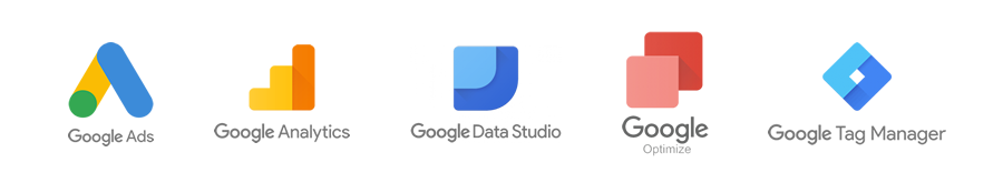 Google Product Suite Logos